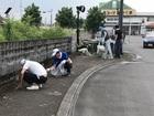 駅前清掃活動を行いました。